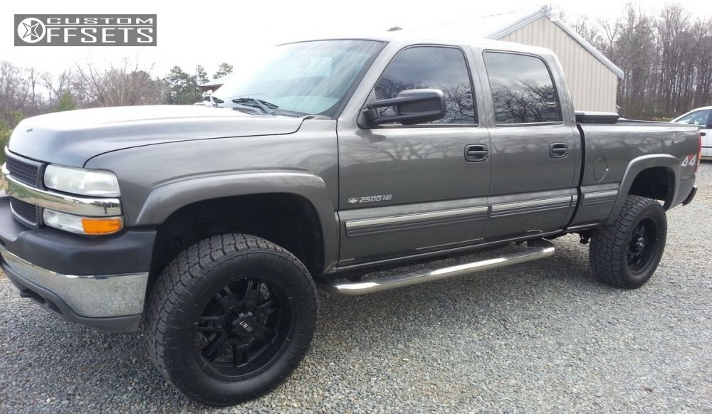 Chevrolet Avalanche Wikipedia >> Wheel Offset 2005 Chevrolet Silverado 2500 Hd Aggressive 1 | Autos Post