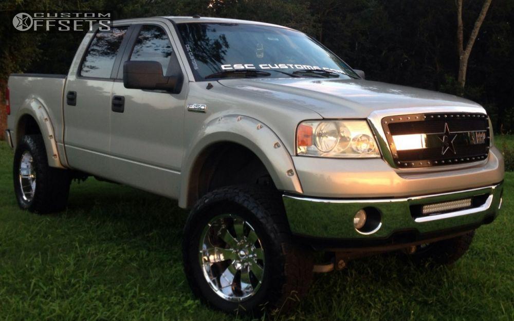F Ford Suspension Lift Mazzi Hulk Chrome Slightly Aggressive