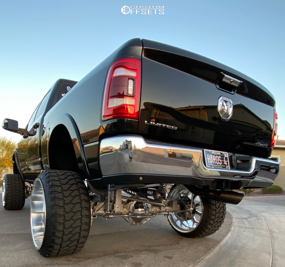 3 2020 2500 Ram Full Throttle Suspension Lift 12in American Force Cortex Cc Polished