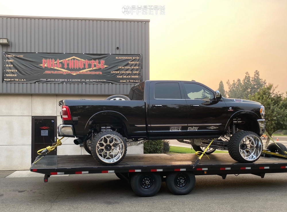 7 2020 2500 Ram Full Throttle Suspension Lift 12in American Force Cortex Cc Polished