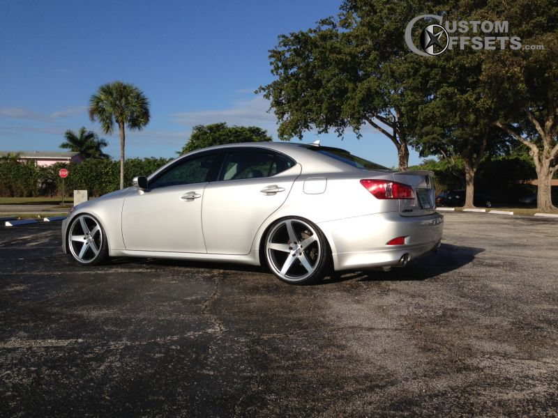 2010 lexus is250 concavo wheels cw5 lowered on springs. Black Bedroom Furniture Sets. Home Design Ideas