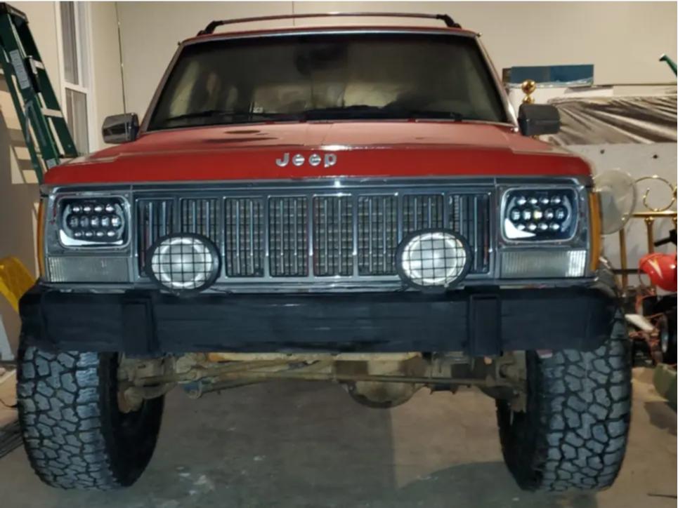 2 1992 Cherokee Jeep Laredo Pro Comp Suspension Lift 3in Unique D Window Black