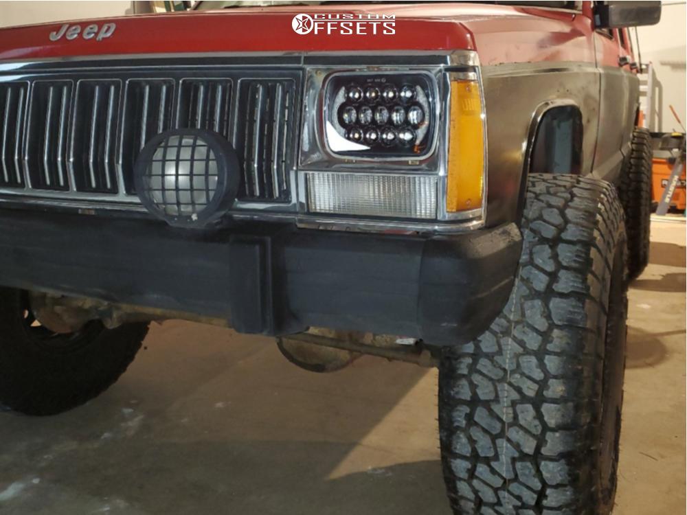 8 1992 Cherokee Jeep Laredo Pro Comp Suspension Lift 3in Unique D Window Black
