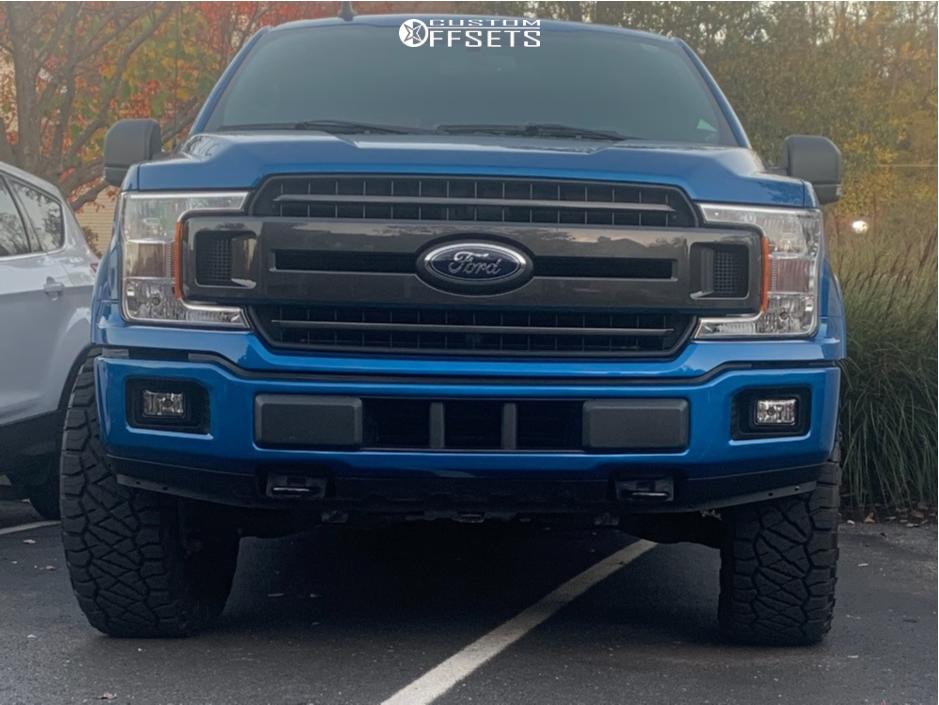 2 2020 F 150 Ford Bds Leveling Kit Fuel Rebel Matte Black