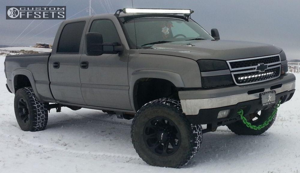 1 2006 Silverado 1500 Hd Chevrolet Suspension Lift 6 Ballistic Jester Black Slightly Aggressive