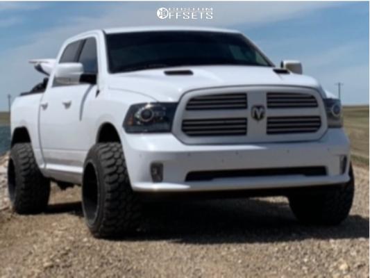 1 2015 Ram 1500 Dodge Daystar Suspension Lift 25in Fuel Maverick Black