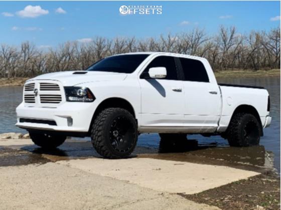 6 2015 Ram 1500 Dodge Daystar Suspension Lift 25in Fuel Maverick Black