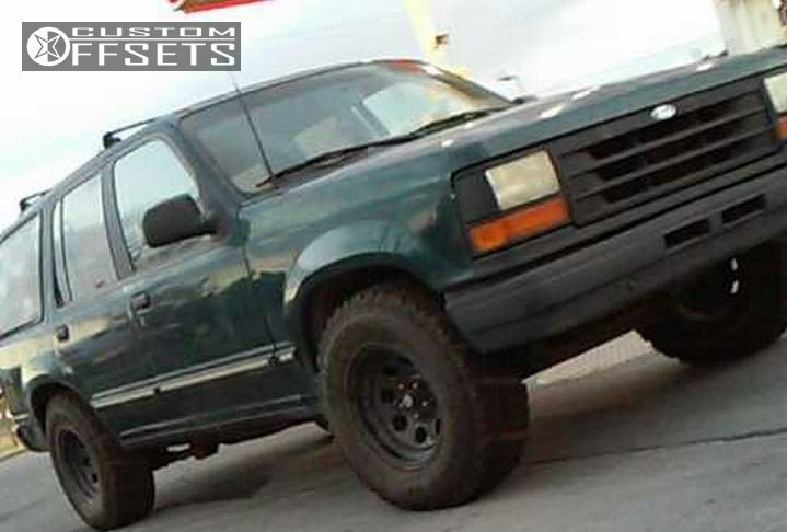 ford explorer 97 wheels