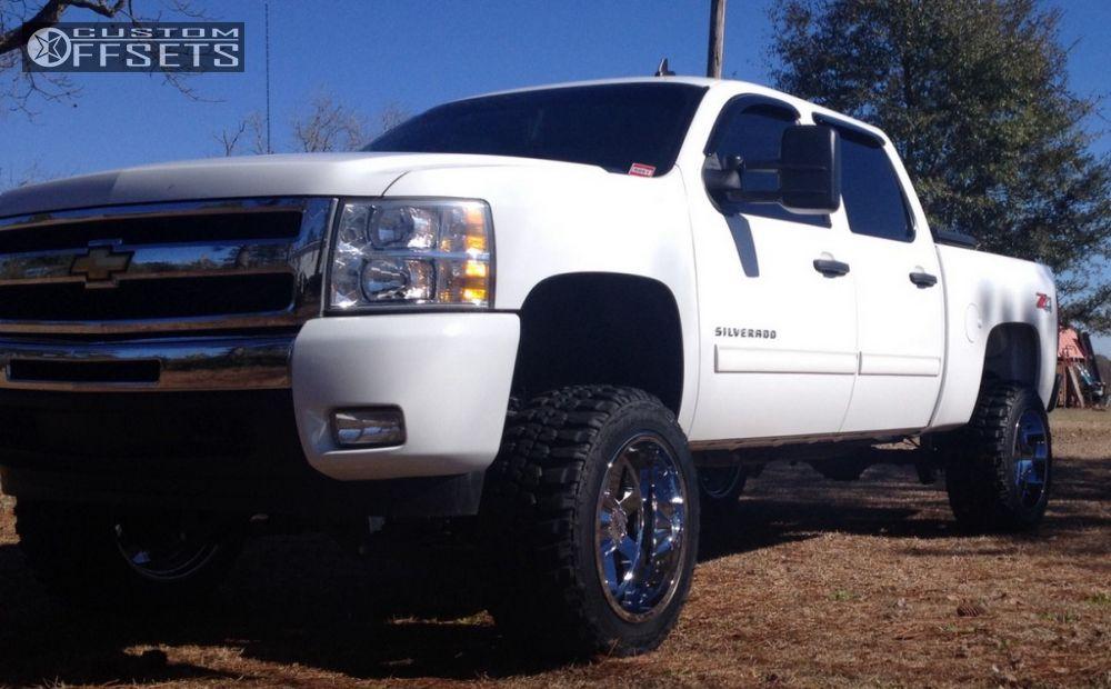 1 2011 Silverado 1500 Chevrolet Suspension Lift 6 Moto Metal Mo962 Chrome Super Aggressive 3 5