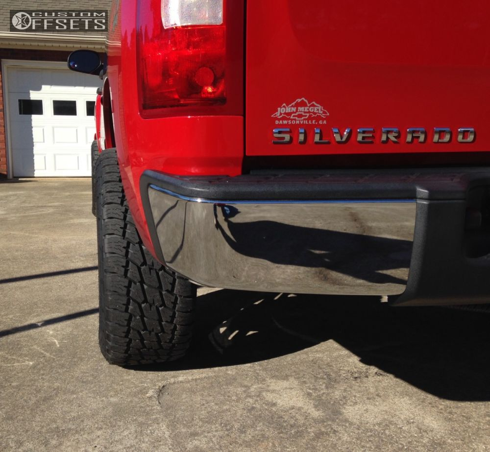 10 2007 Silverado 1500 Chevrolet Suspension Lift 35 Hostile Zombie Chrome Slightly Aggressive