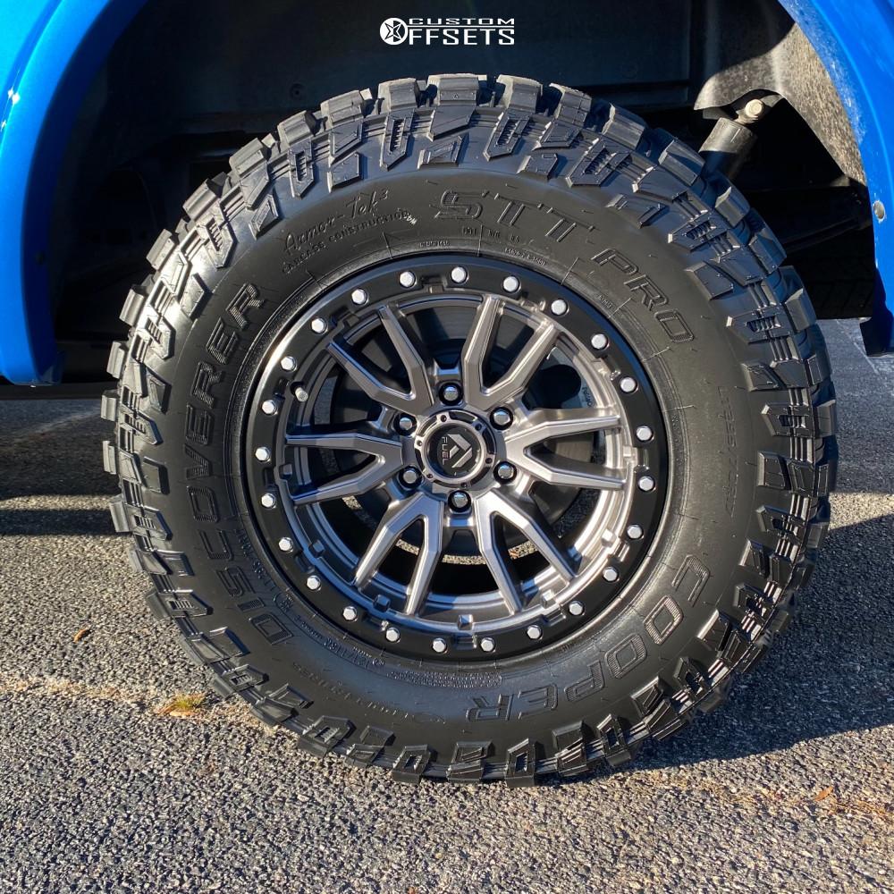 5 2020 F 150 Ford Supreme Suspension Lift 25in Fuel Rebel Anthracite