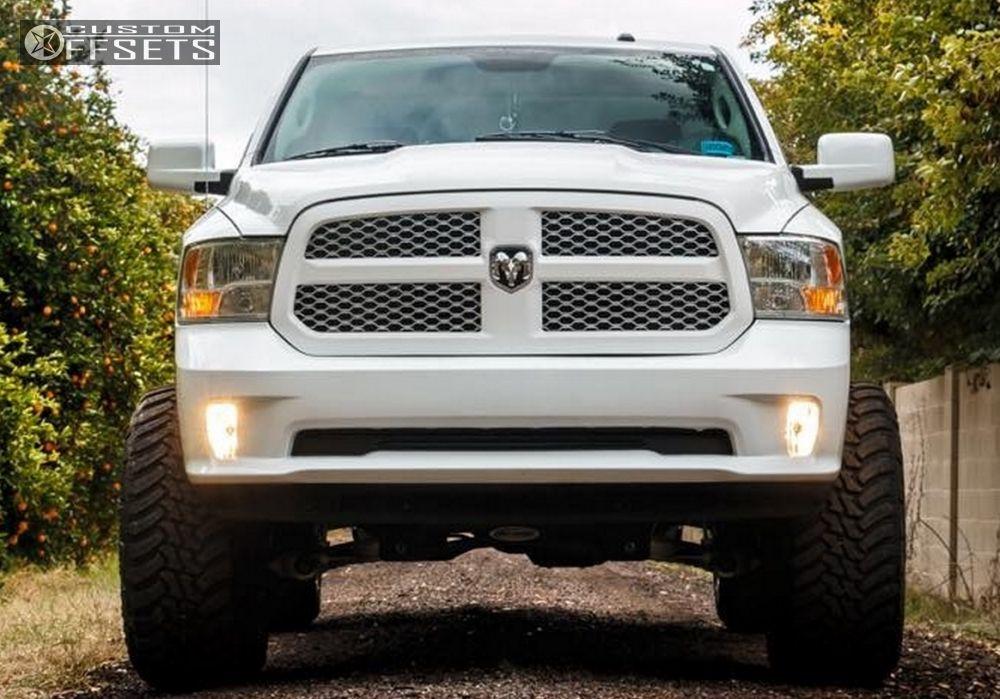 Wheel Offset 2014 Dodge Ram 1500 Hella Stance 5 Suspension Lift 6