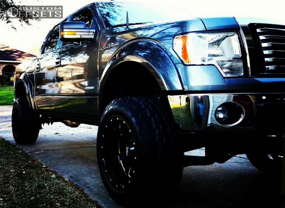 2011 ford f 150 moto metal mo962 pro comp suspension lift 6in for Suspension metal