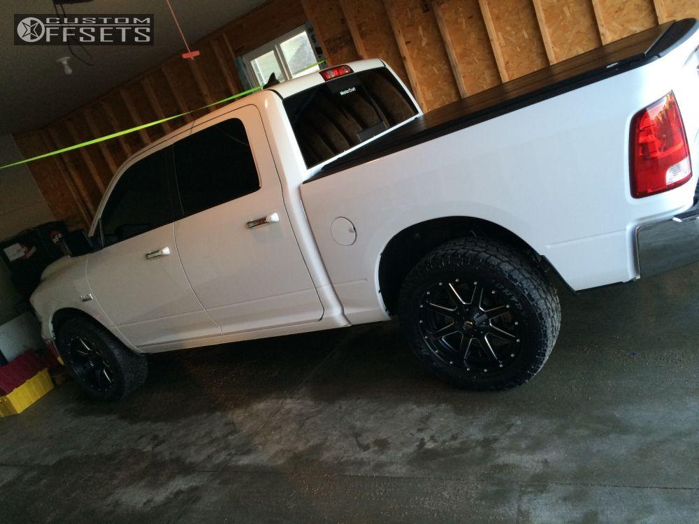 Ram 1500 Accessories >> Wheel Offset 2014 Dodge Ram 1500 Slightly Aggressive Stock Custom Rims