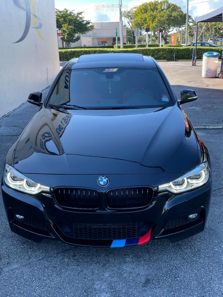 2018 BMW 340i Wheel Offset HellaFlush Stock   1407291 ...