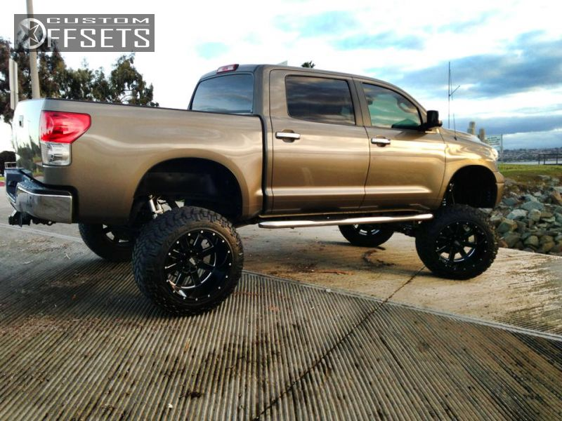 Wheel Offset 2008 Toyota Tundra Hella Stance 5 Lifted 9