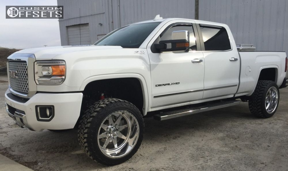 ... 1 2015 Sierra 2500 Hd Gmc Leveling Kit American Force Independence Ss8 Chrome Super Aggressive 3 ...