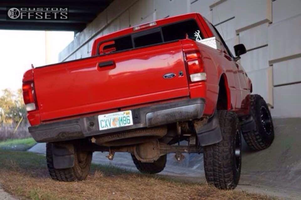 1 2000 ranger ford suspension lift 6 fuel lethal black super aggressive 3 5