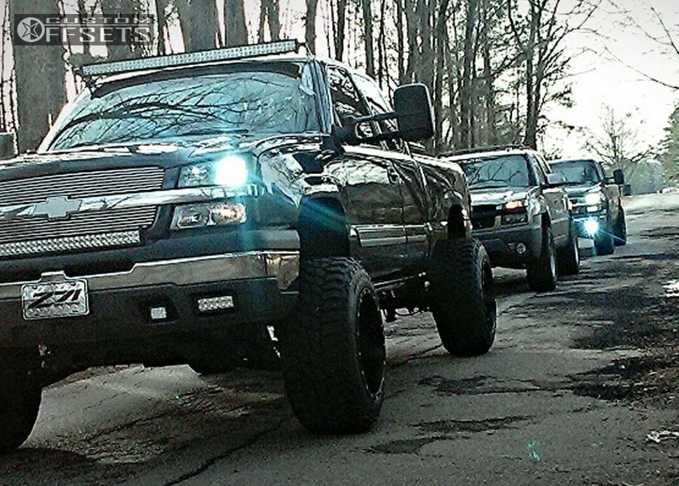 15 silverado chevrolet suspension lift 6 fuel maverick black hella stance 5