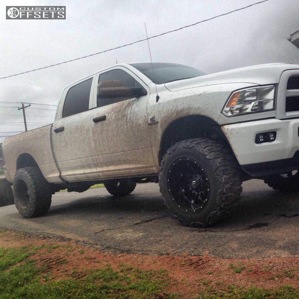 14719 11 2014 ram 2500 dodge leveling kit fuel hostage black super aggressive 3 5 - Dodge Ram 2500 44 2014