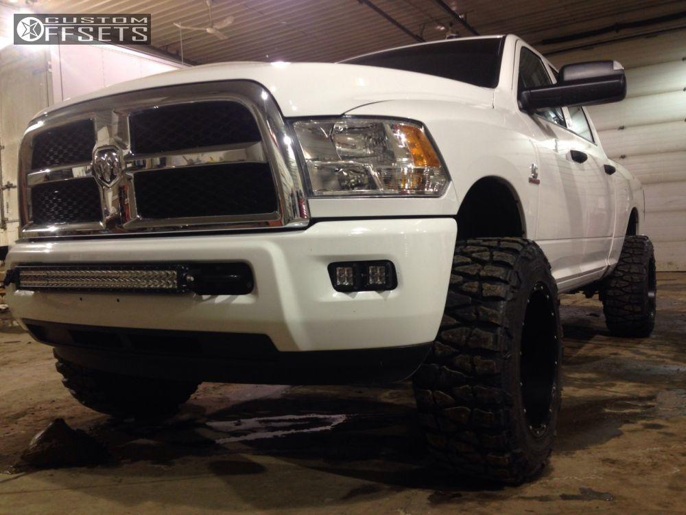 14719 2 2014 ram 2500 dodge leveling kit fuel hostage black super aggressive 3 5 - Dodge Ram 2500 44 2014