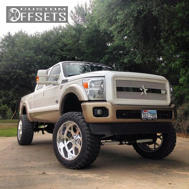 1 2012 F 250 Super Duty Ford Suspension Lift 9 American Force Shield  Polished Aggressive