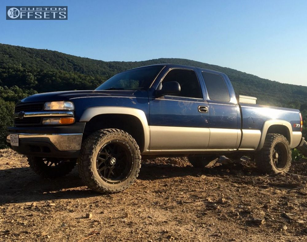 All Chevy chevy 1500 leveling kit : 2002 Chevrolet Silverado 1500 Hostile Sprocket Rough Country ...