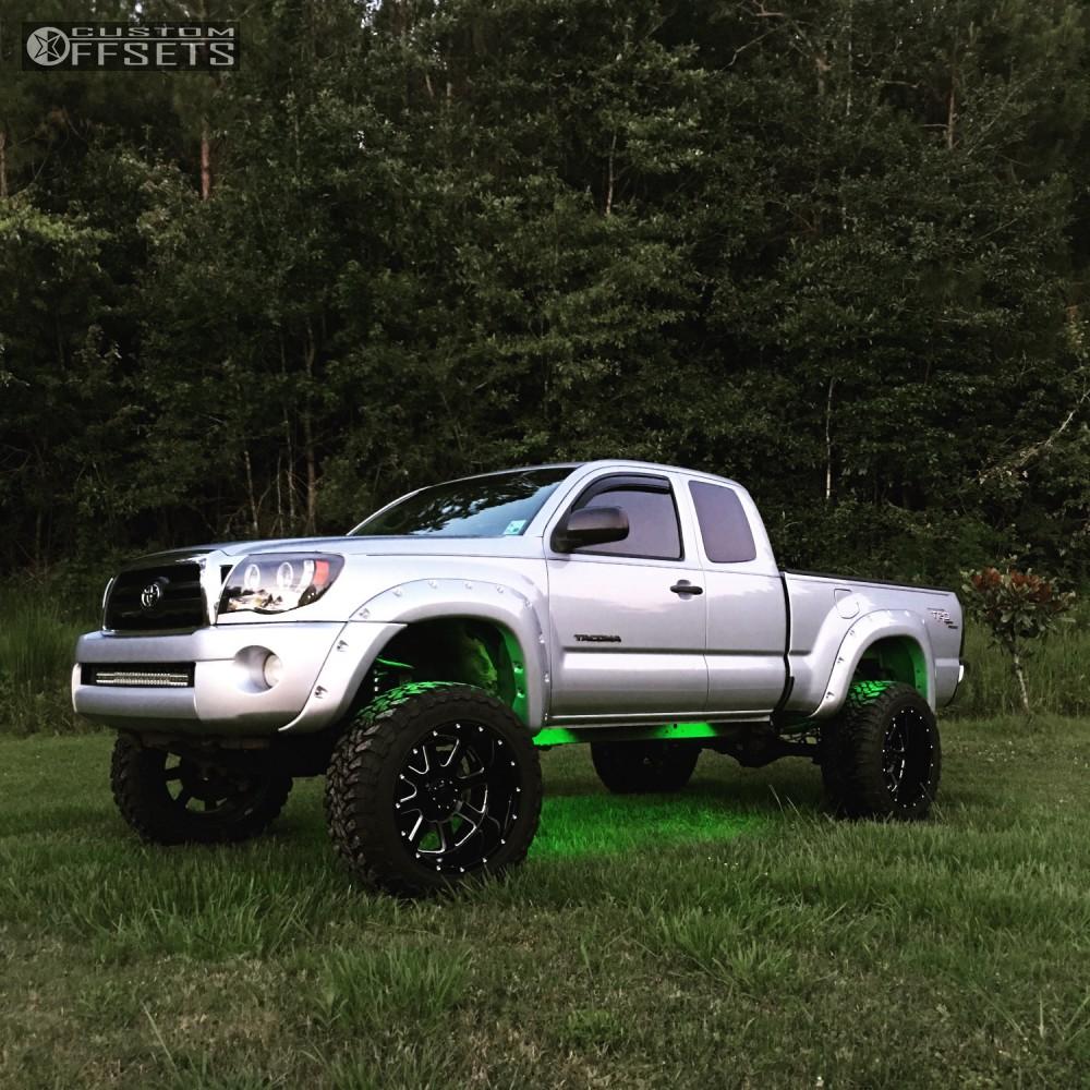 2006 Toyota Tacoma Gear Alloy Big Block Maxtrac Suspension Lift 6in