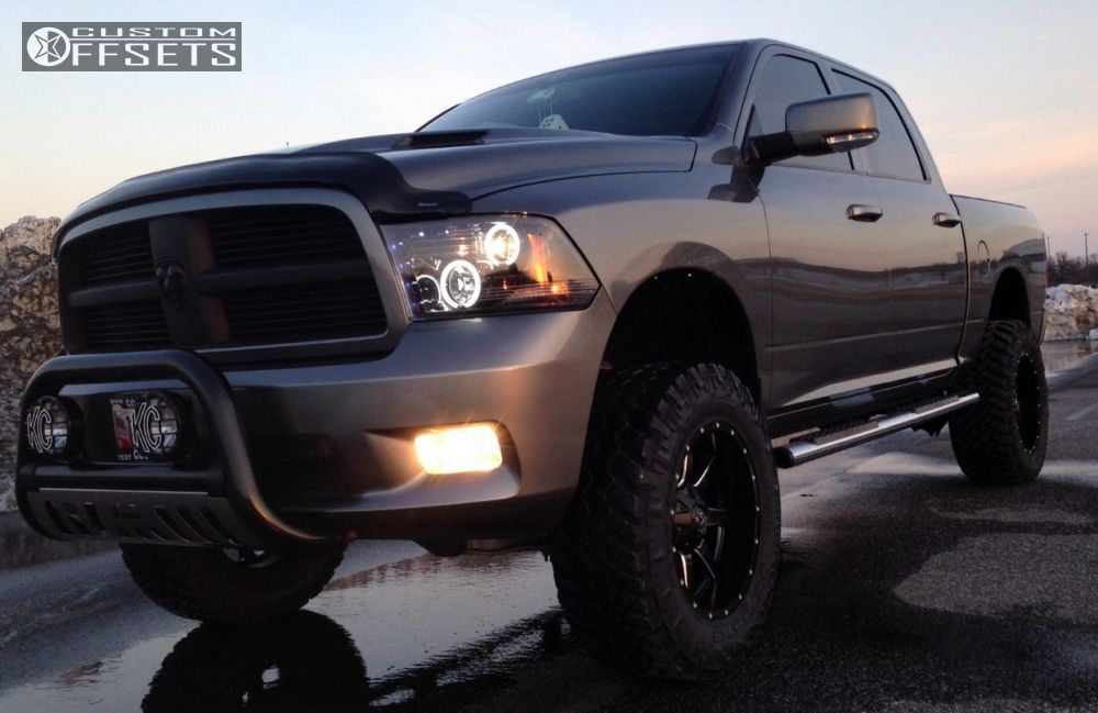 Wheel Offset 2011 Dodge Ram 1500 Super Aggressive 3 5 ...