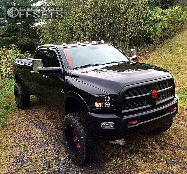 70 1 2013 2500 Ram Suspension Lift: 2013 Ram 2500 Fuel Nutz Zone Suspension Lift 8in
