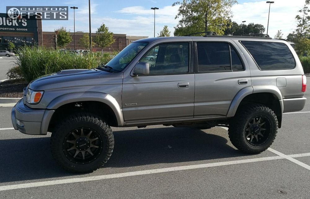 2002 Toyota 4 Runner Raceline Shift Rough Country