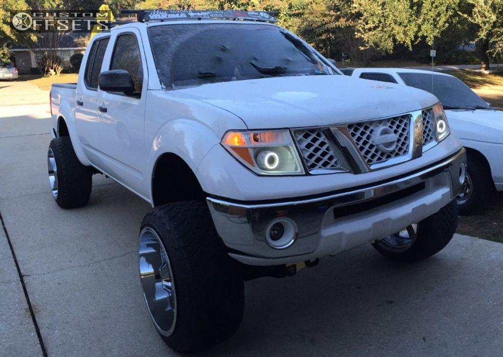 Wheel Offset 2005 Nissan Frontier Hella Stance 5 Suspension Lift 8