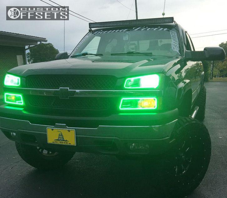 1 2003 Silverado 1500 Hd Chevrolet Suspension Lift 6 Fuel Throttle Black Super Aggressive 3 5