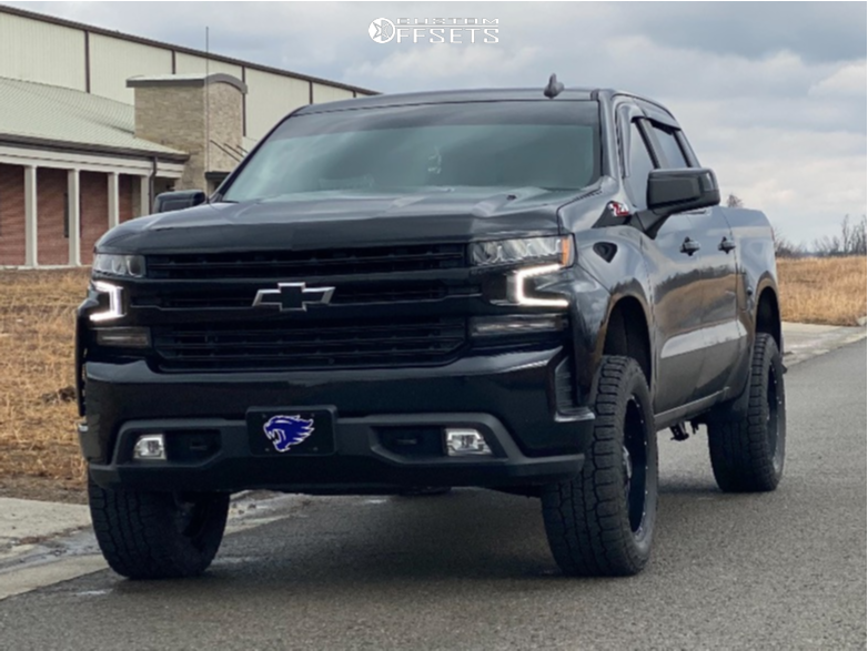 1 2019 Silverado 1500 Chevrolet Readylift Suspension Lift 35in Moto Metal Mo970 Black