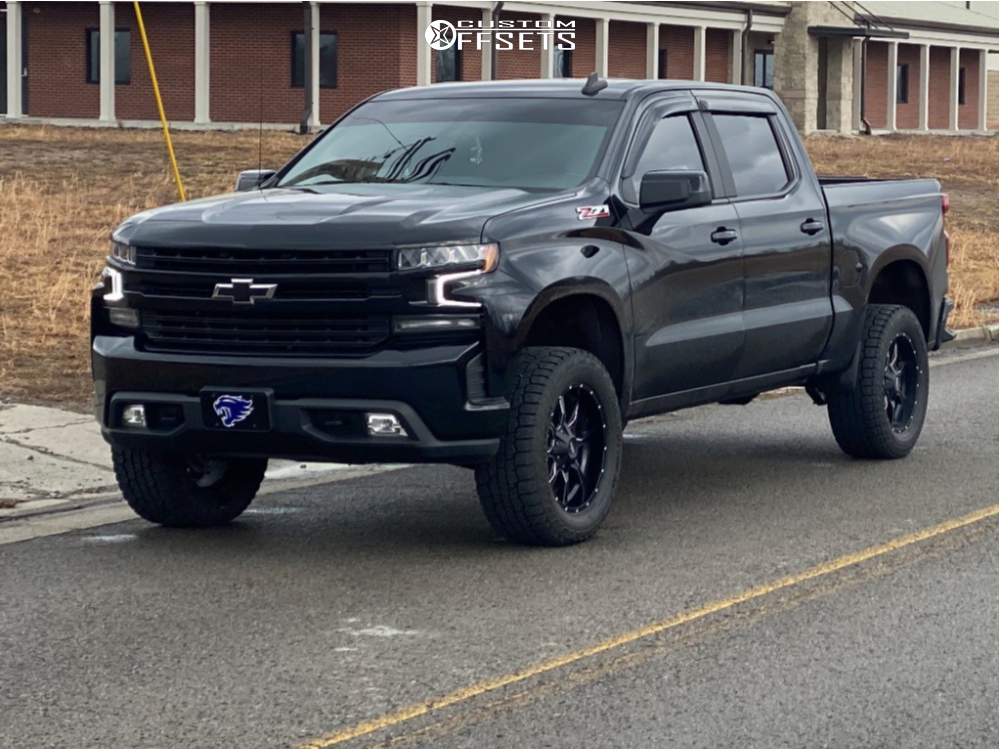 14 2019 Silverado 1500 Chevrolet Readylift Suspension Lift 35in Moto Metal Mo970 Black