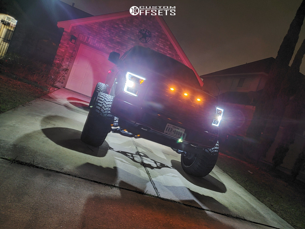 10 2015 F 150 Ford Readylift Suspension Lift 9in Axe Offroad Ax62 Red