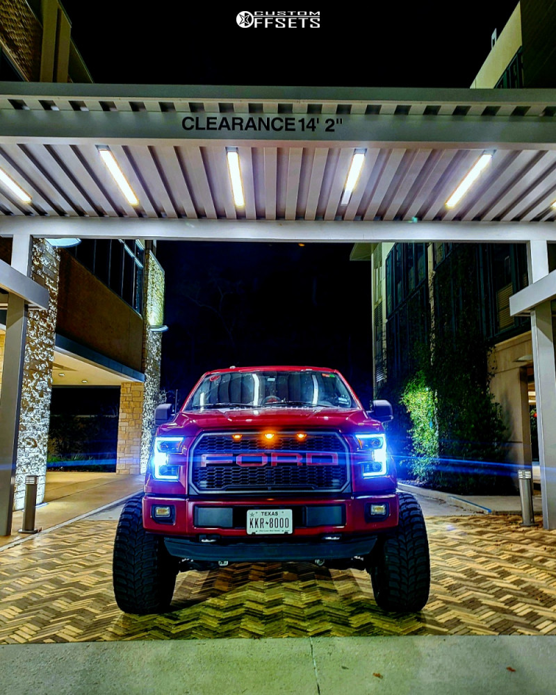 12 2015 F 150 Ford Readylift Suspension Lift 9in Axe Offroad Ax62 Red