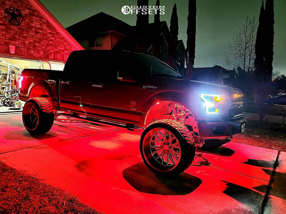 15 2015 F 150 Ford Readylift Suspension Lift 9in Axe Offroad Ax62 Red