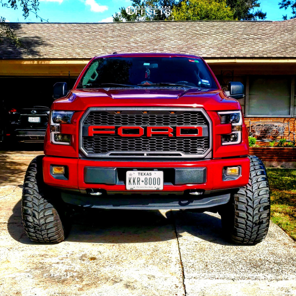 2 2015 F 150 Ford Readylift Suspension Lift 9in Axe Offroad Ax62 Red