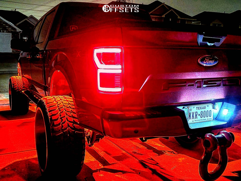5 2015 F 150 Ford Readylift Suspension Lift 9in Axe Offroad Ax62 Red