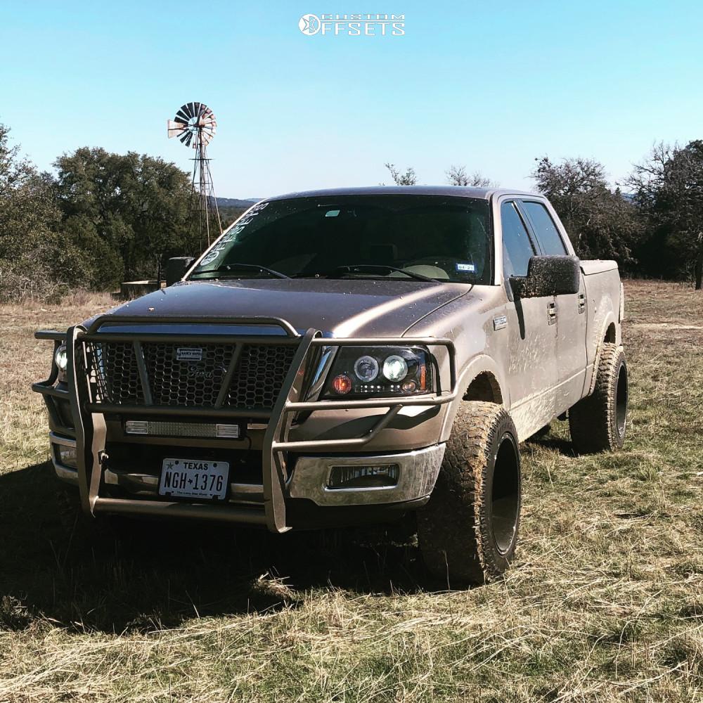 1 2005 F 150 Ford Leveling Kit Leveling Kit Fuel Triton Black