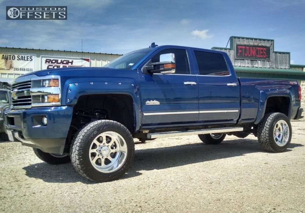 1 2016 Silverado 2500 Hd Chevrolet Suspension Lift 5 American Force 101 Polished Hella Stance 5