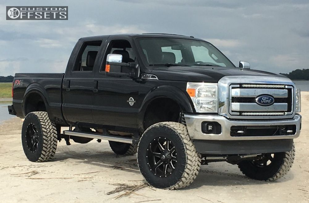 2013 ford f 250 super duty fuel 538 rough country suspension lift 6in. Black Bedroom Furniture Sets. Home Design Ideas