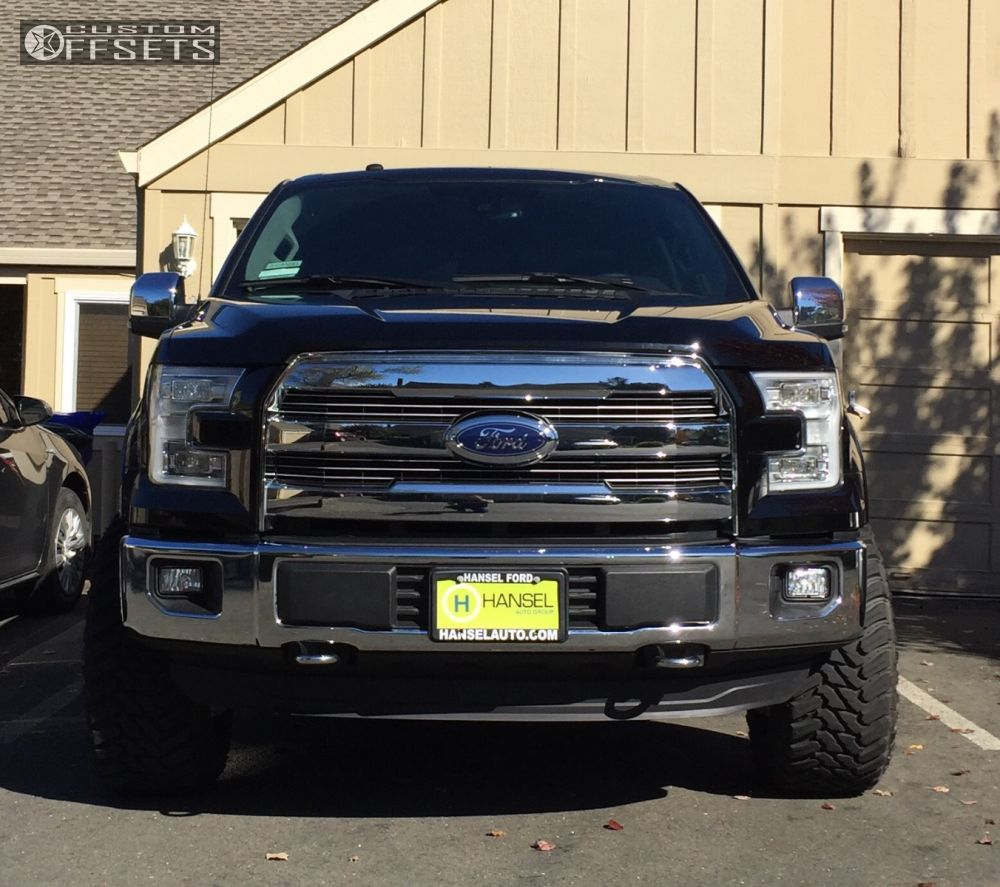 Ford Lift Kits: 2016 Ford F 150 Fuel Triton Halo Lift Leveling Kit