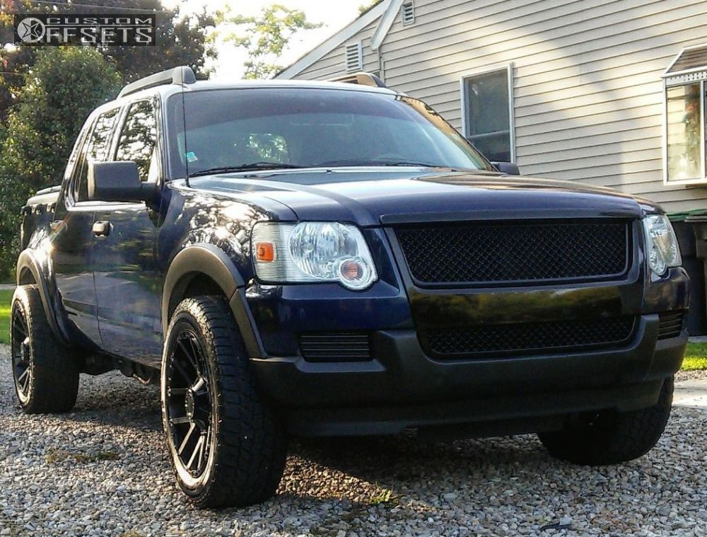 My Ford Touch Screen Is Black >> 2007 Ford Explorer Sport Trac Scorpion Sc9 Oem Stock Offroad Led Bars