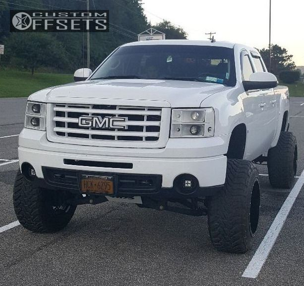 1 2009 Sierra 1500 Gmc Suspension Lift 6 Body 3 Fuel Maverick D260 Custom Hella Stance