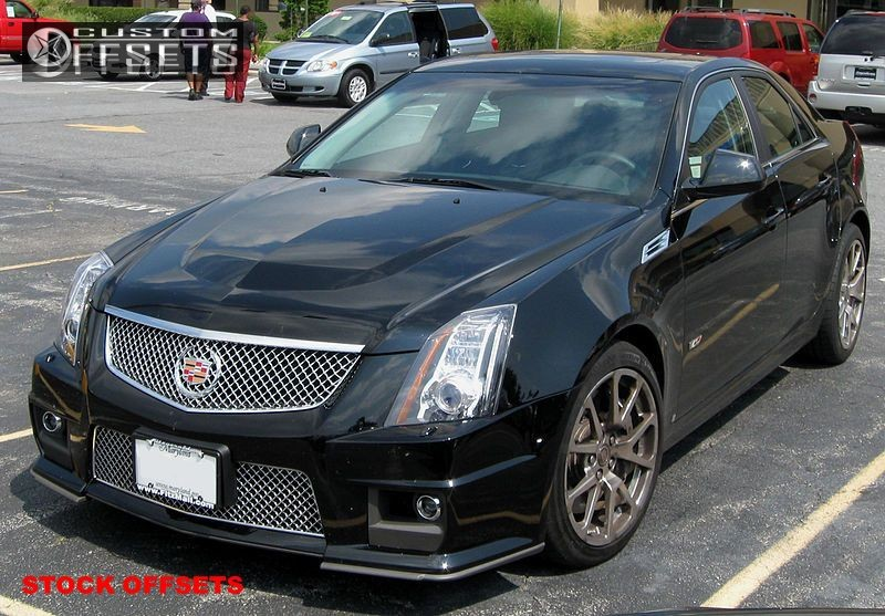 Wheel Offset 0 Cadillac Cts V Nearly Flush Stock Oem Factory