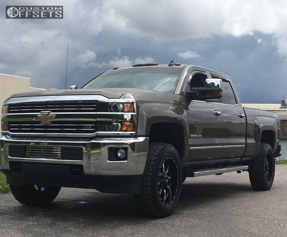 2015 chevrolet silverado 2500 hd moto metal mo970 ready lift leveling kit. Black Bedroom Furniture Sets. Home Design Ideas