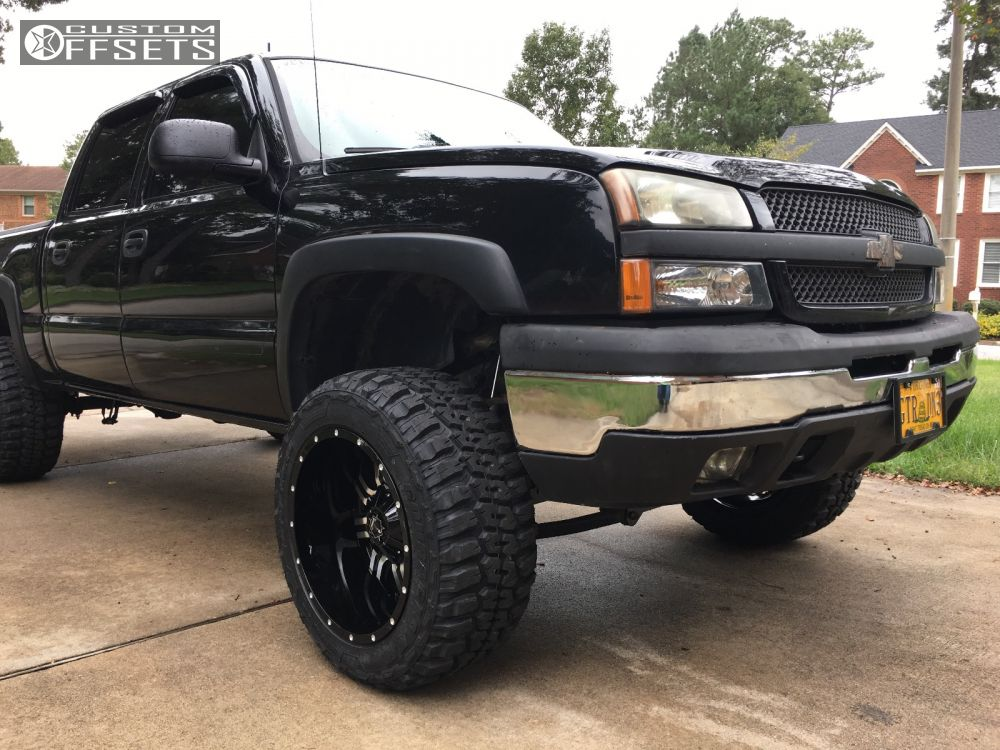 2005 chevrolet silverado 1500 tis 535mb rough country. Black Bedroom Furniture Sets. Home Design Ideas