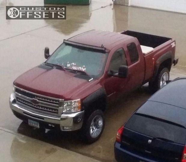 8 2008 Silverado 2500 Hd Chevrolet Leveling Kit Gear Alloy Big Block Chrome Super Aggressive 3 5